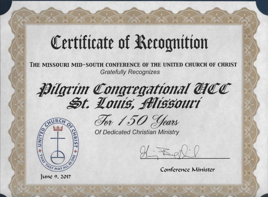 The First 150 Years | Pilgrim UCC in St Louis | Page 22